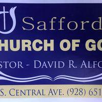 Safford Church of God logo