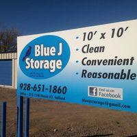 Blue J Storage logo