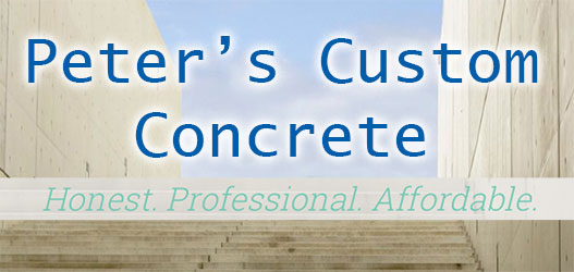Peters Custom Concrete Inc logo
