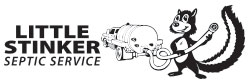 Little Stinker Septic Service logo