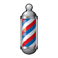 Papa D's Barber Shop logo
