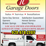 IC Garage Doors logo