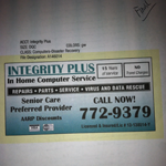 Integrity Plus In Home Computer Service logo