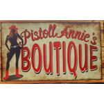 Pistoll Annie's Boutique & Mumbo Jumbo Antiques logo
