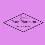 Pure Platinum Salon logo