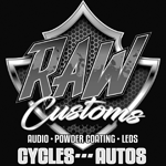 Raw Customs logo