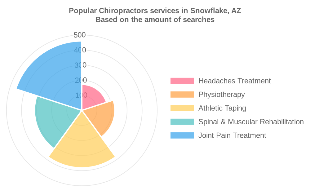 Popular services provided by chiropractors in Snowflake, AZ