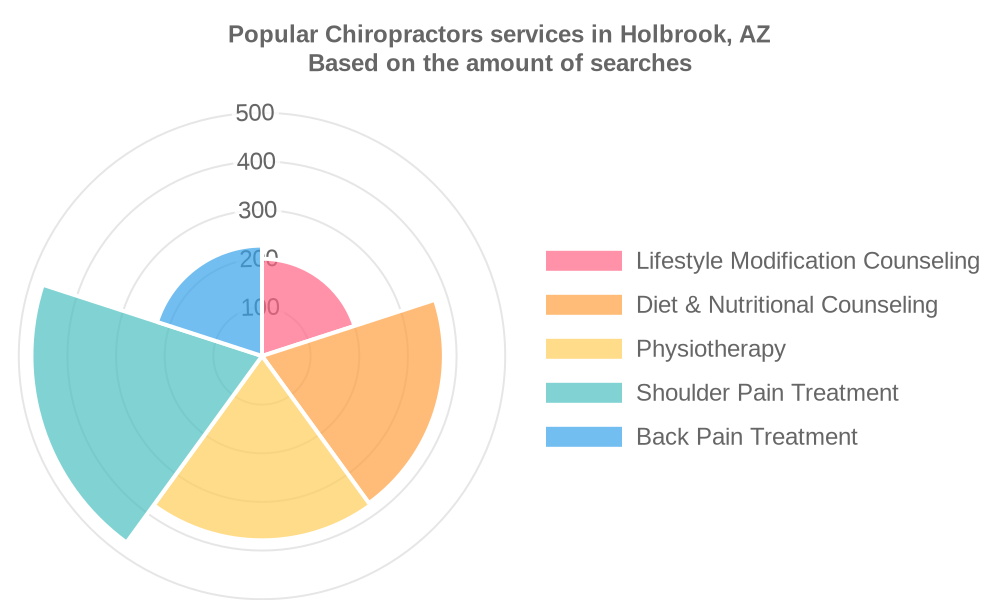 Popular services provided by chiropractors in Holbrook, AZ