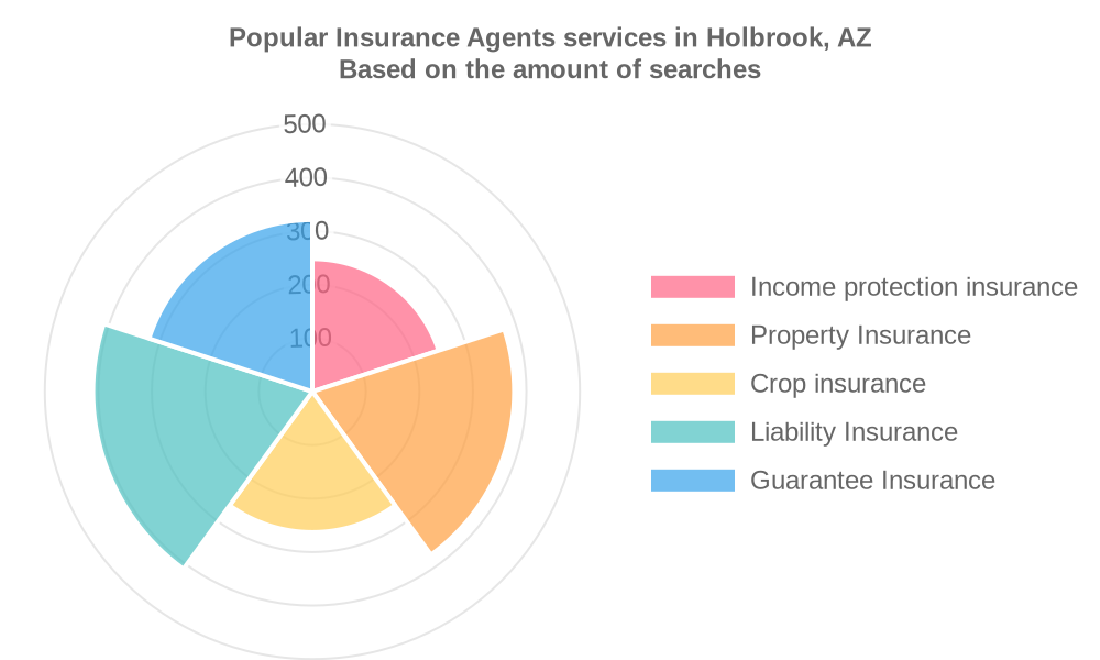 Popular services provided by insurance agents in Holbrook, AZ