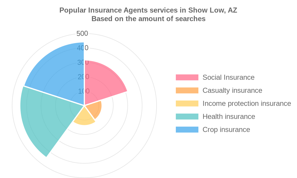 Popular services provided by insurance agents in Show Low, AZ