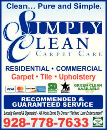 Simply Clean Carpet Care logo
