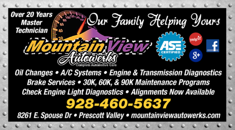 Yellow Pages Ad of Mountainview Autowerks