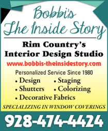 Yellow Pages Ad of Bobbi's - The Inside Story
