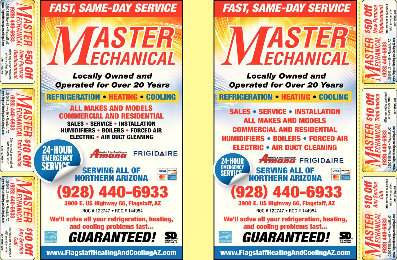 Print Ad of Master Mechanical