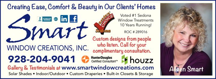 Print Ad of Smart Window Creations Inc