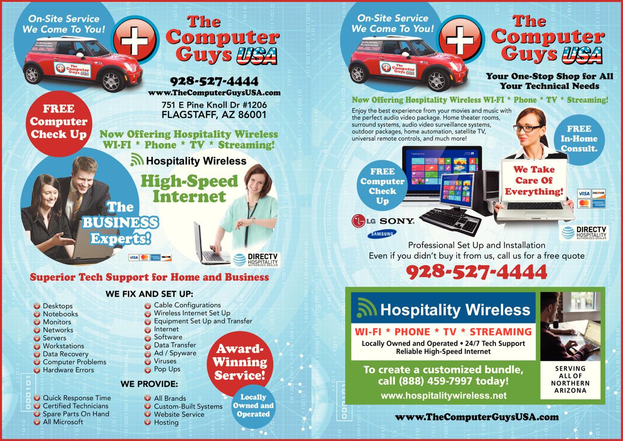 Print Ad of Computer Guys Usa The