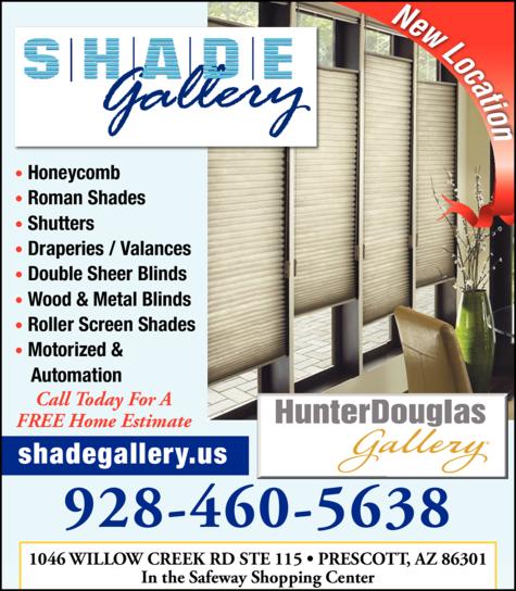 Print Ad of Shade Gallery Llc