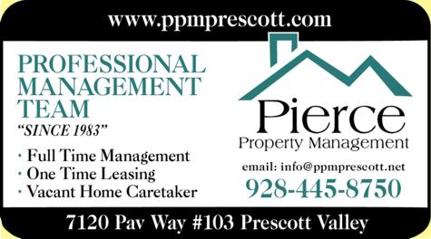 Print Ad of Pierce Property Management