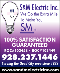 Print Ad of S & M Electric Inc
