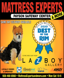 Yellow Pages Ad of Mattress Experts & More