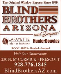Print Ad of Blind Brothers Arizona