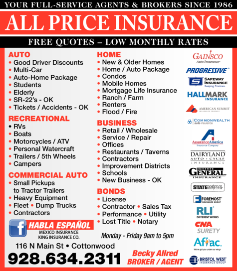 All Price Insurance logo