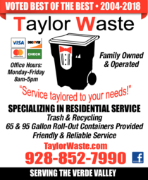 Print Ad of Taylor Waste