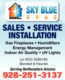 Print Ad of Sky Blue Hvac