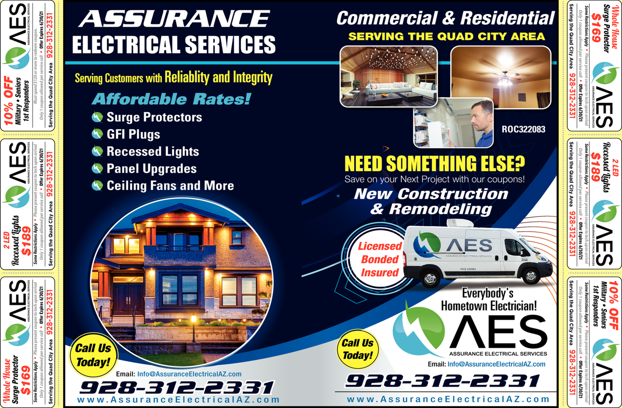 Print Ad of Assurance Electrical Services Llc