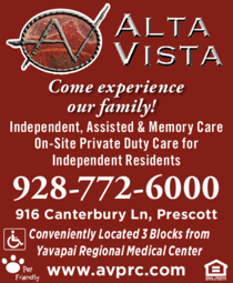 Yellow Pages Ad of Alta Vista Senior Living