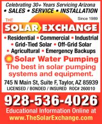 Print Ad of Solar Exchange The