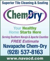 Print Ad of Navapache Chem-Dry