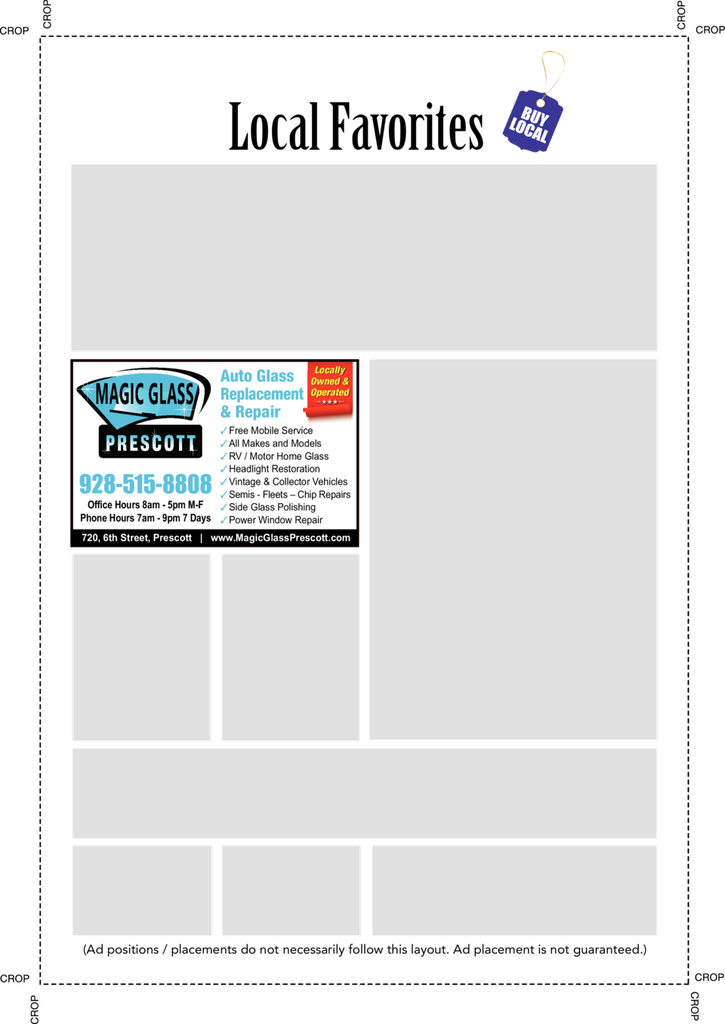 Print Ad of Magic Glass