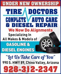Print Ad of Tire Doctors Complete Auto Care & Diesel Repair