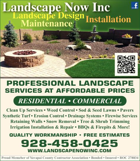 Print Ad of Landscape Now Inc