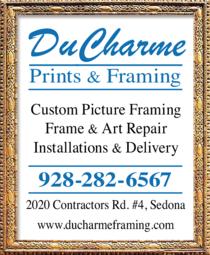 Print Ad of Ducharme Prints & Framing