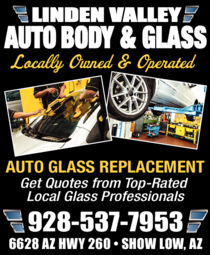 Print Ad of Linden Valley Auto Body & Glass