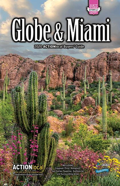 Globe Print Directory Cover