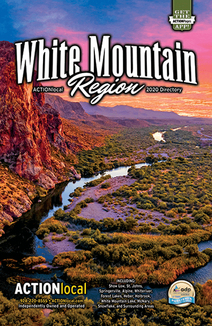 White Mountains Region Print Directory Cover